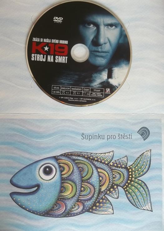 K 19 stroj na smrt (dárková obálka) DVD