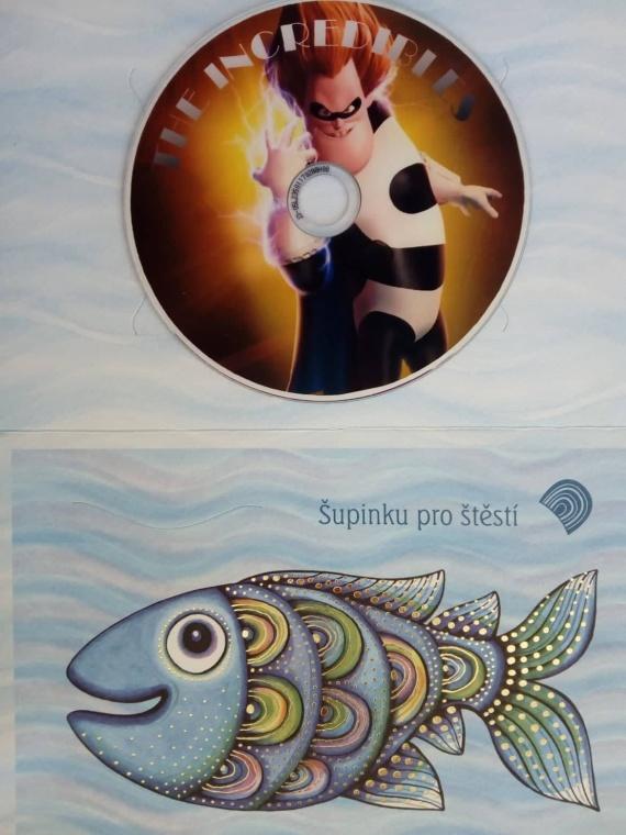 Úžasňákovi (dárková obálka) DVD