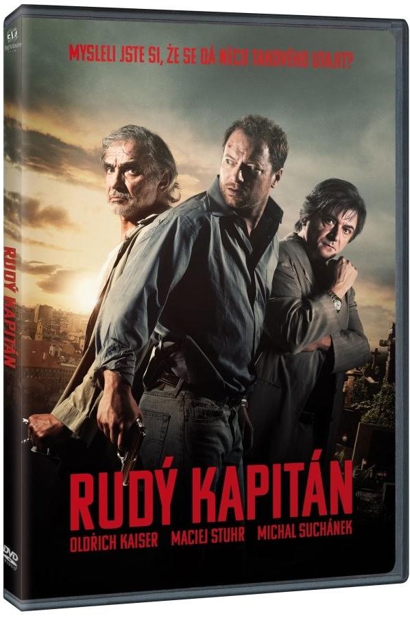 Rudý kapitán DVD -plast