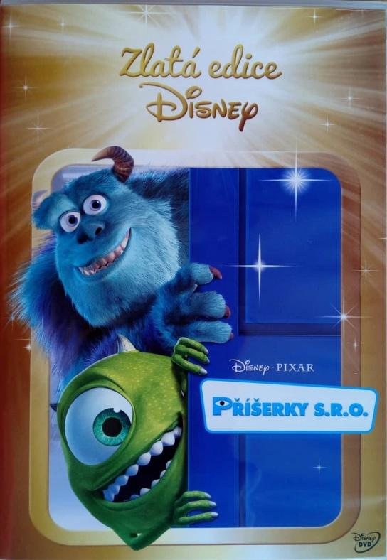 Příšerky s.r.o. DVD zlatá edice plast