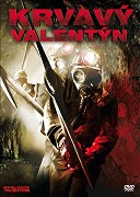 Krvavý Valentýn DVD pošetka
