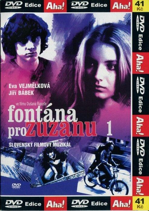 Fontána pro Zuzanu 1 - DVD pošetka