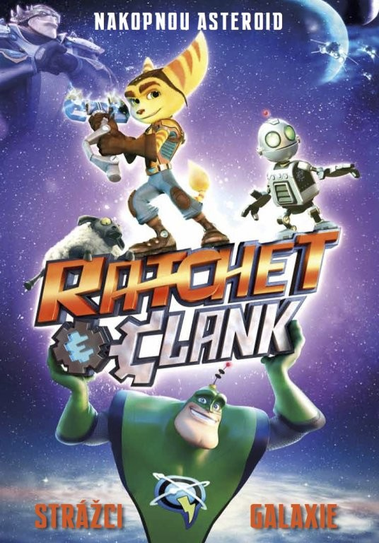 Ratchet a Clank: Strážci galaxie DVD plast