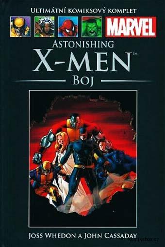 Ultimátní komiksový komplet - Astonishing X-Men - Boj (hřbet  č.40)
