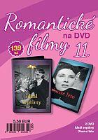 Romantické filmy 11 – 2x DVD digipack (Ideál septimy + Ohnivé léto)