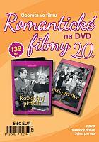 Romantické filmy 20 – 2x DVD digipack (Rozkošný příběh + Štěstí pro dva)