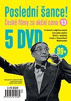 Poslední šance č. 13 - 5x DVD - papírové pošetky