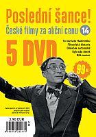 Poslední šance č. 14 - 5x DVD - papírové pošetky