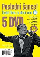 Poslední šance č. 15 - 5x DVD - papírové pošetky