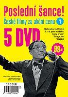 Poslední šance č. 1 - 5x DVD - papírové pošetky