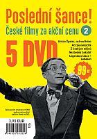 Poslední šance č. 2 - 5x DVD - papírové pošetky