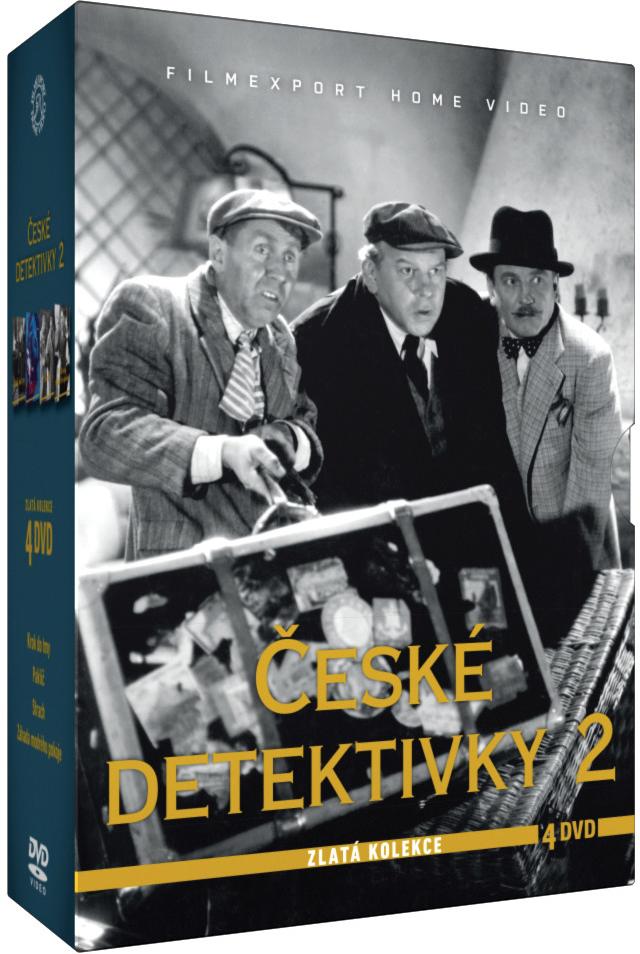 České detektivky 2 - Zlatá kolekce 4 DVD
