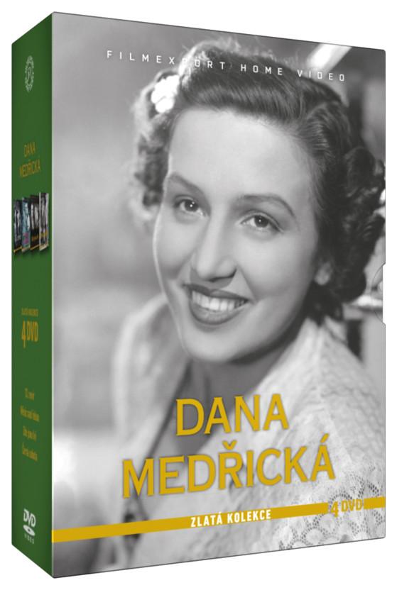 Dana Medřická - Zlatá kolekce 4 DVD