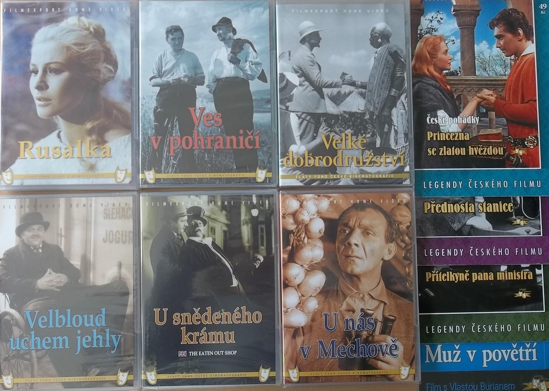 Kolekce starý český film 10. - 6DVD Plast + 4DVD zdarma