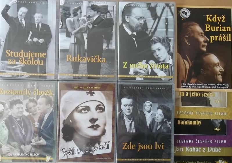 Kolekce starý český film 11. - 6DVD Plast + 4DVD zdarma