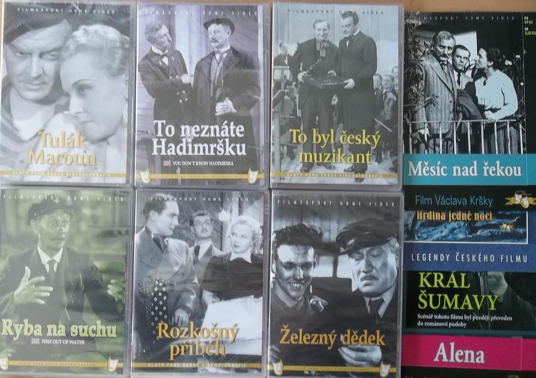 Kolekce starý český film 14. - 6DVD Plast + 4DVD zdarma