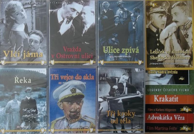 Kolekce starý český film 15. - 6DVD Plast + 4DVD zdarma