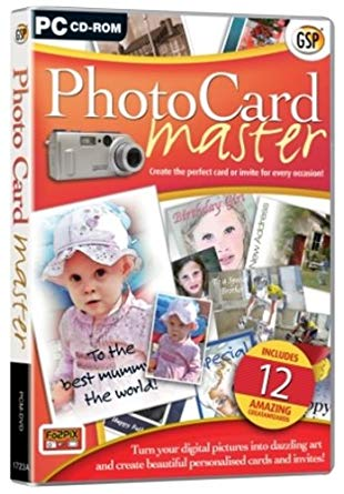 PC hra - Photo Card master PC CD-ROM