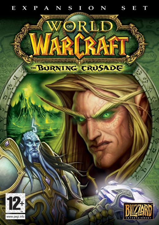 PC hra - WarCraft - The Burning Crusade (bazarové zboží)