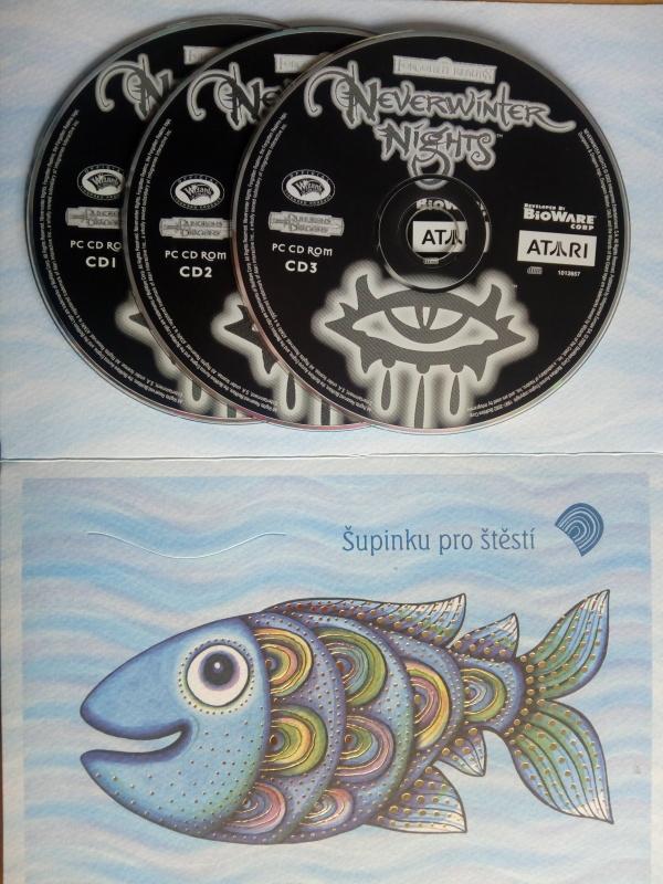 PC hra - Neverwinter Nights 3CD Game (Dárková obálka - bazarové  zboží)