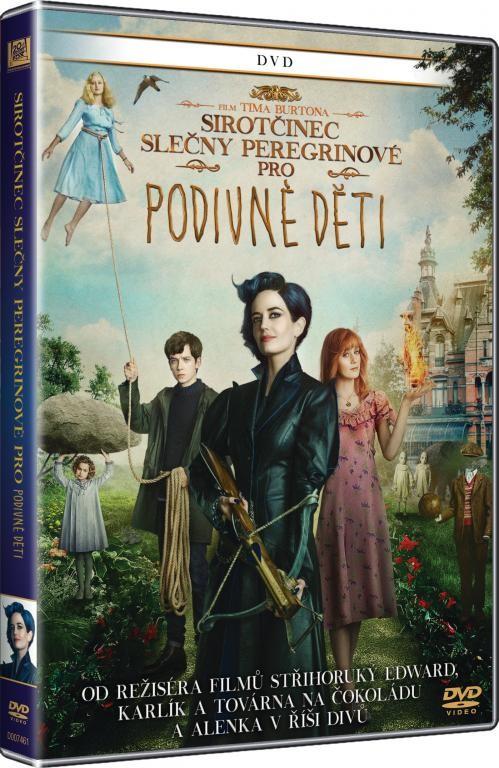 Sirotčinec slečny Peregrinové pro podivné děti - DVD plast