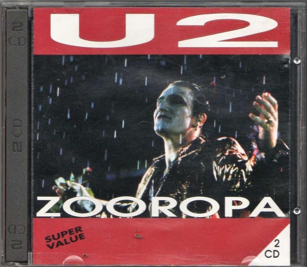 U2: Zooropa CD (bazarové zboží)