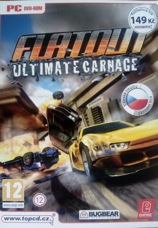 PC hra - Flatout - ultimate carnage
