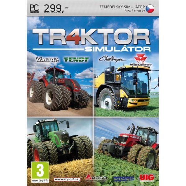 PC hra - Tr4ktor simulátor