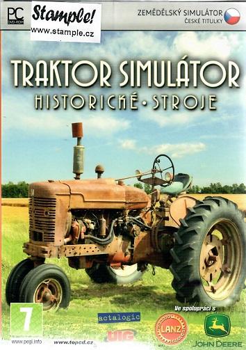 PC hra - Traktor simulátor - historické stroje