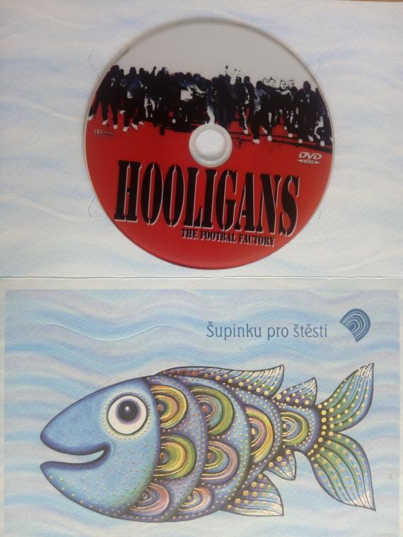 Hooligans the footbal factory (dárková obálka) DVD