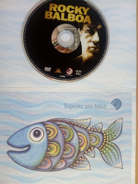 Rocky Balboa (dárková obálka) DVD