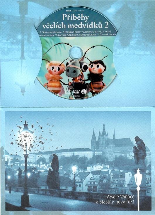 Příběhy včelích medvídku 2 ( dárkový papír obal ) - DVD