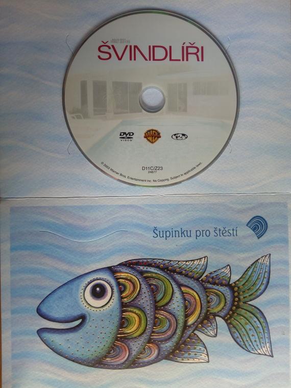 Švindlíři (dárková obálka) DVD