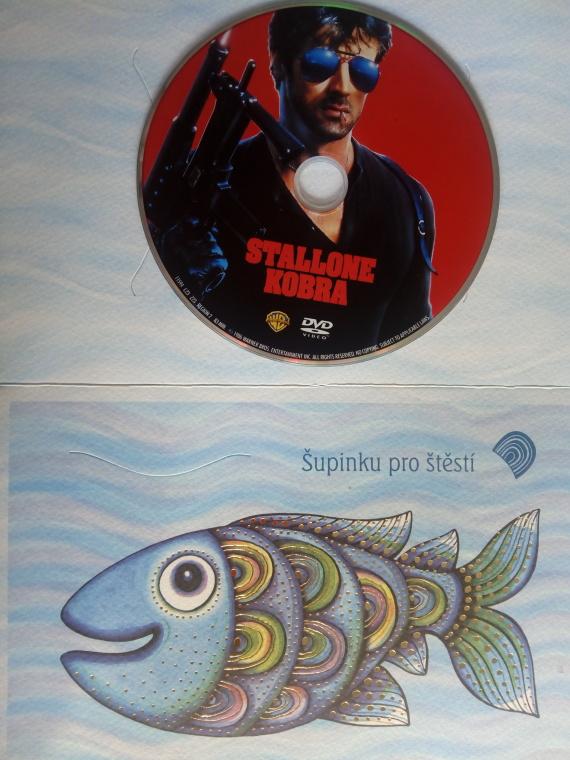 Stallone Kobra (dárková obálka) DVD
