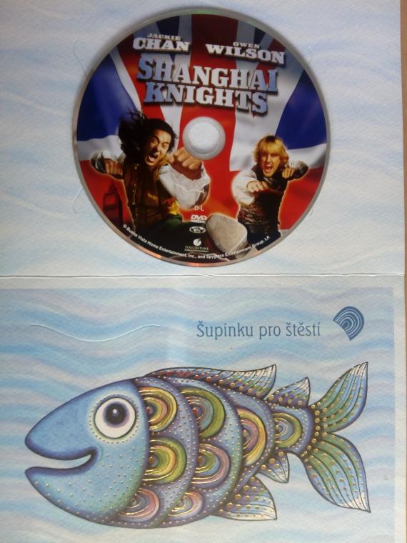 Shanghai Knights (dárková obálka) DVD