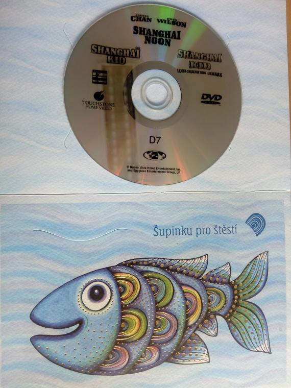 Shanghai Noon (dárková obálka) DVD
