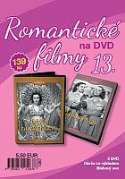 Romantické filmy 13 - 2x DVD digipack (Děvče za výkladem + Bláhový sen)