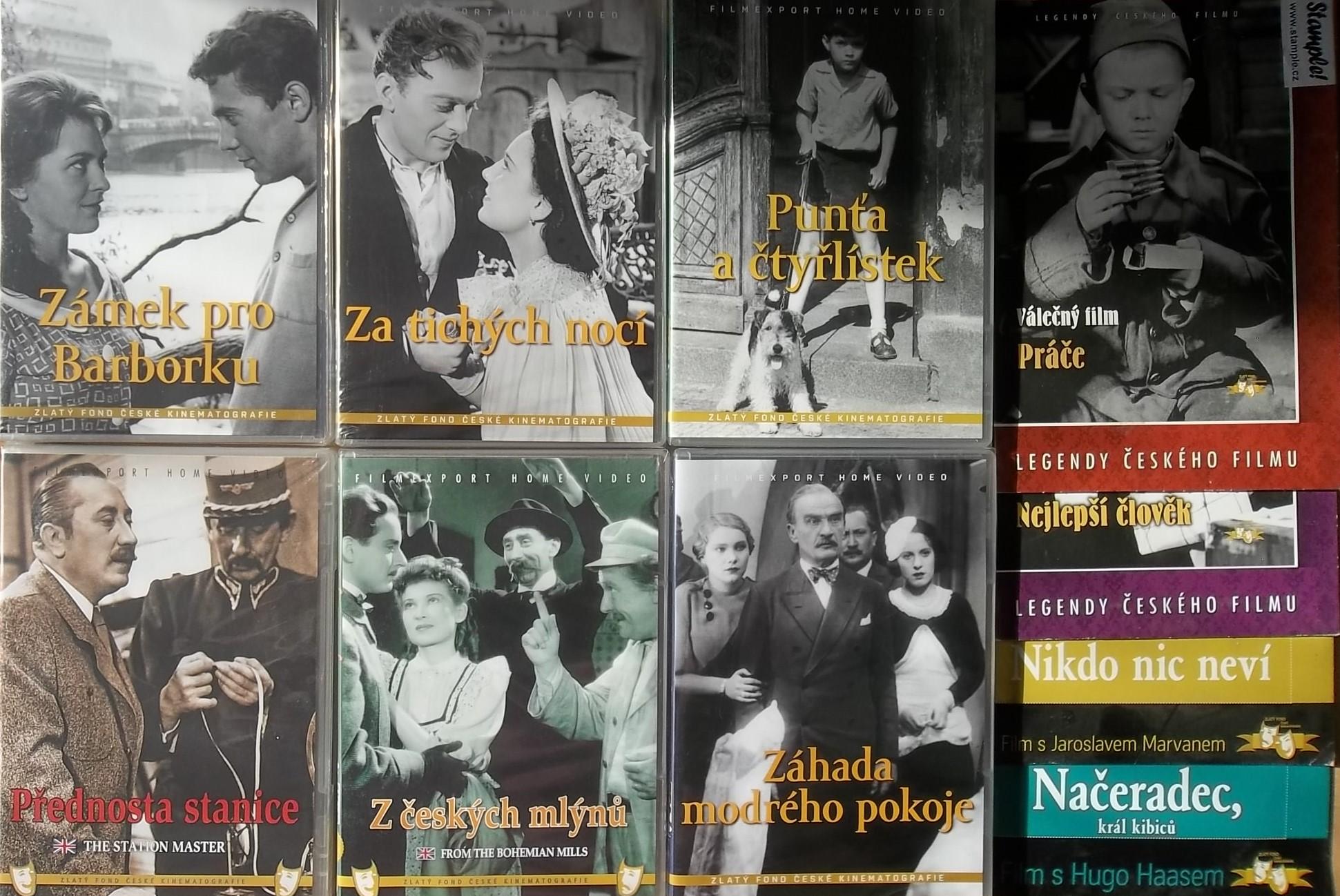 Kolekce starý český film 9. 6DVD plast + 4DVD dárek