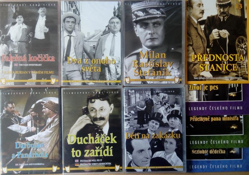 Kolekce starý český film 16. 6DVD plast + 4DVD dárek