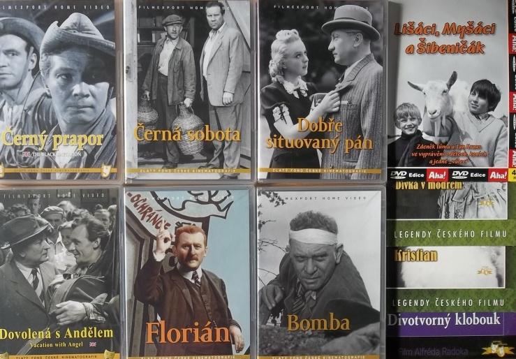 Kolekce starý český film 17. - 6DVD plast + 4DVD dárek
