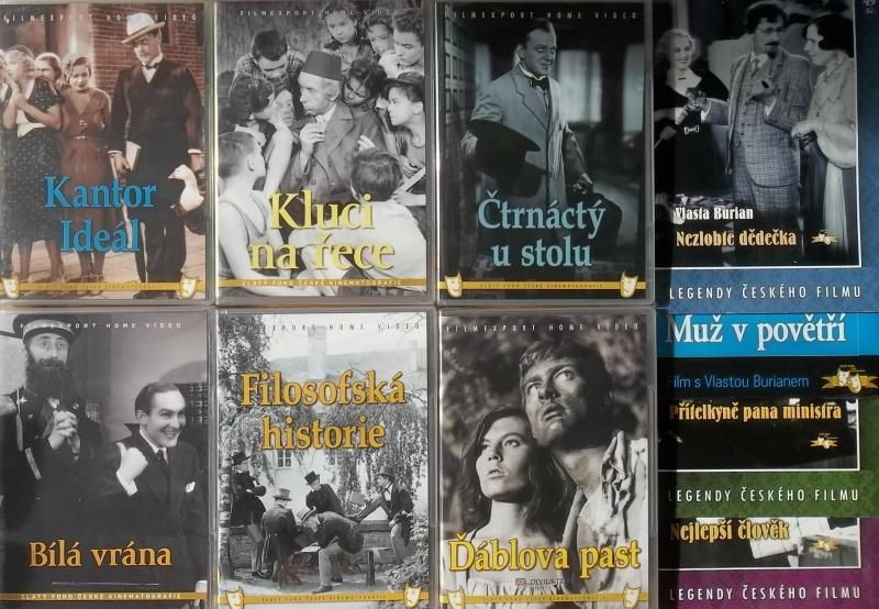 Kolekce starý český film 18. - 6DVD plast + 4DVD dárek