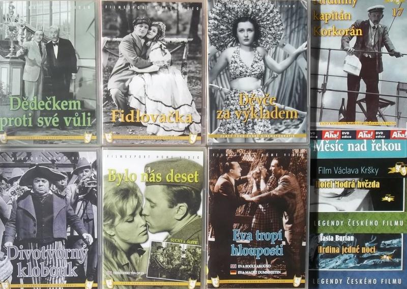 Kolekce starý český film 19. - 6DVD plast + 4DVD dárek