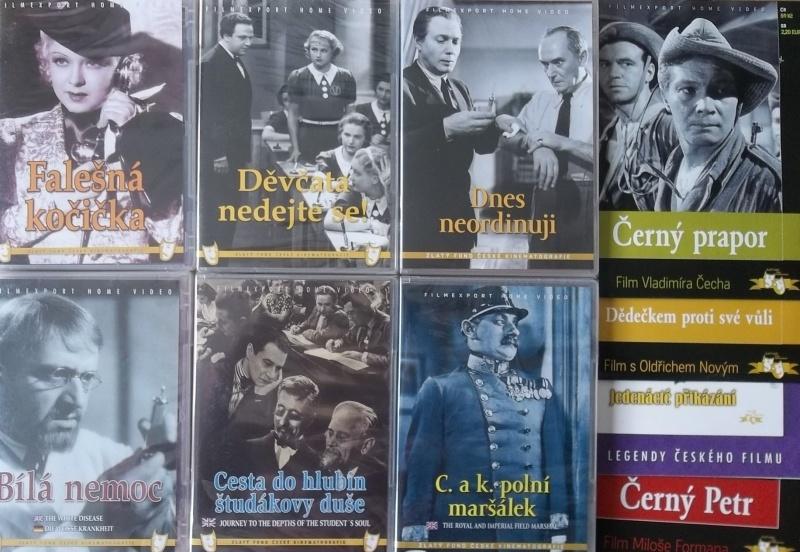 Kolekce starý český film 20. - 6DVD plast + 4DVD dárek