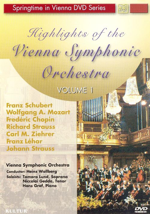 Highlights of the Vienna Symphonic Orchestra Vol.1 DVD plast