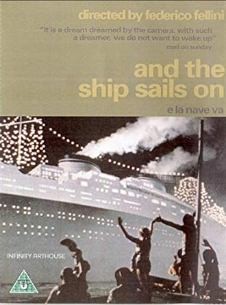 And the ship sails on DVD (původní znění)