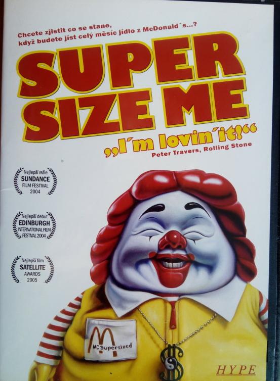 Super size me (původní znění, CZ titulky) DVD slim