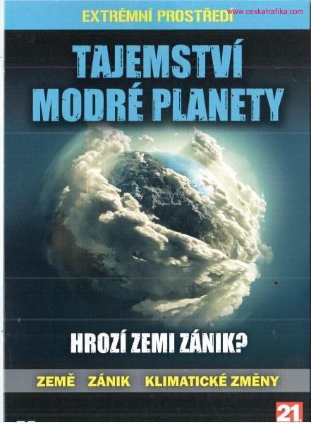 Tajemství modré planety DVD pošetka