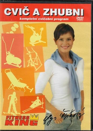 Cvič a zhubni - Olga Šípková DVD slim