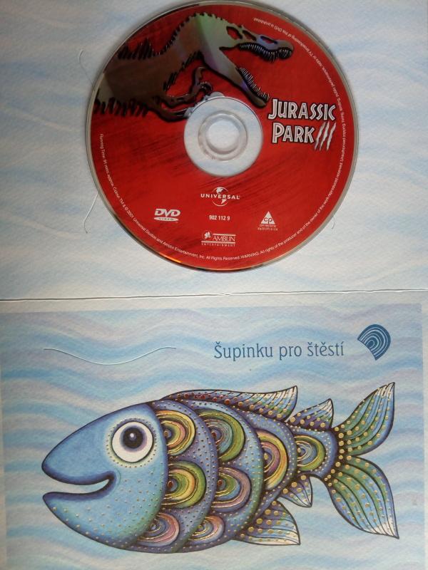Jurssic park 3. (dárková obálka) DVD