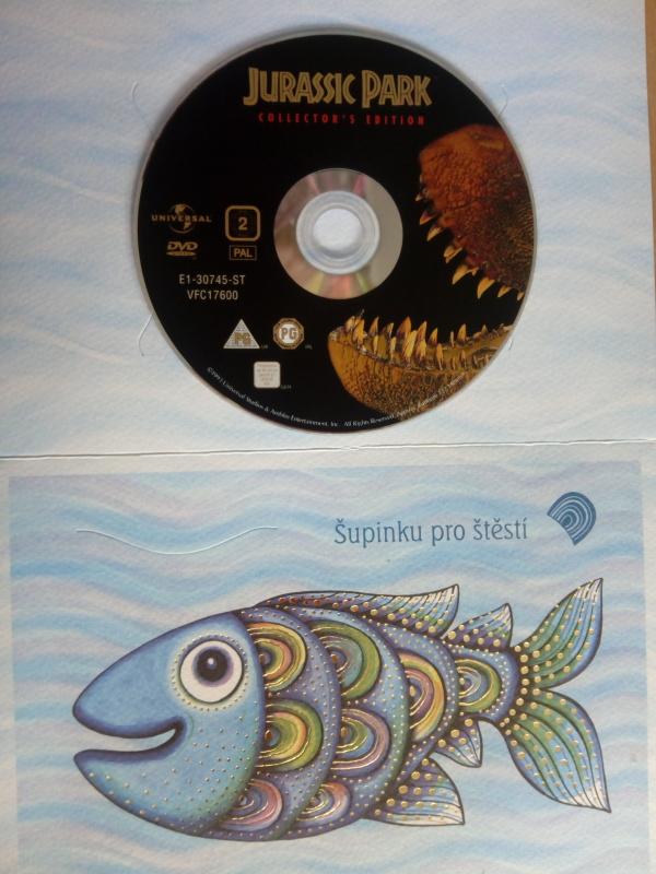 Jurksý park (dárková obálka) DVD